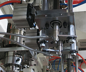 Circulating blow system improve the cycle time
