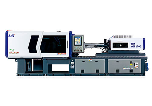 WIZ-E IBM Series In-Mould Labelling – Clamping Force 170 Ton